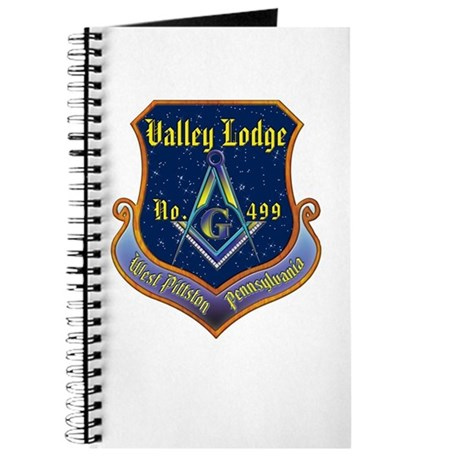 Valley Masonic Lodge Custom Crest Journal