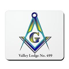 Valley Masonic Lodge Custom Mousepad