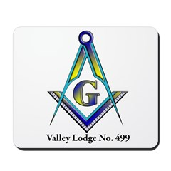 Valley Masonic Lodge Custom Mousepad