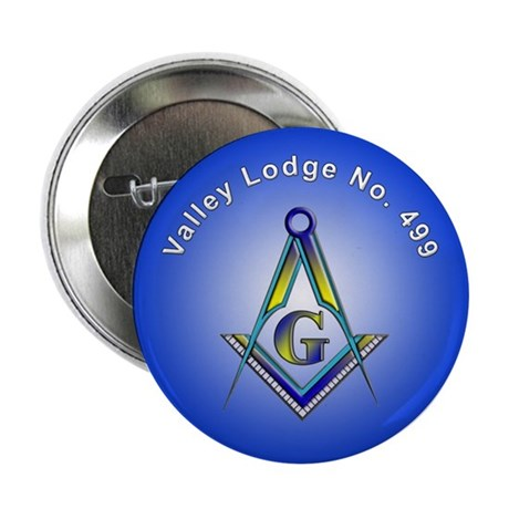 "Valley Masonic Lodge Custom 2.25"" Button (10 pack"