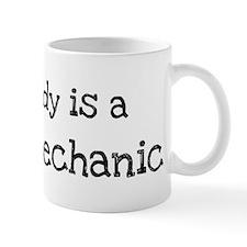 My Daddy is a Diesel Mechanic Mug