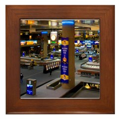 Vegas Airport Mini Framed Tile