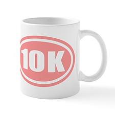 Pink 10 K Runner Oval Mug