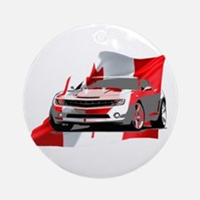 Canadian Muscle Camaro Ornament (Round)