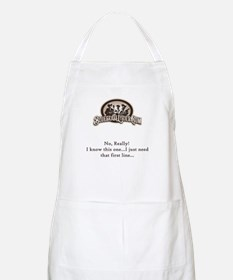 Bluegrass Lyrics BBQ Apron