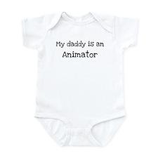 My Daddy is a Animator Infant Bodysuit