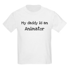 My Daddy is a Animator T-Shirt