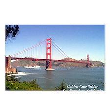 San Francisco Souvenir Postcards (Package of 8)