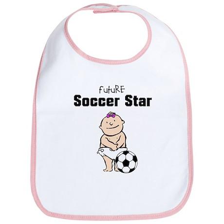 Future Soccer Star Girl Bib