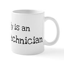 My Daddy is a Aircraft Techni Mug