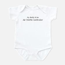 My Daddy is a Air Traffic Con Infant Bodysuit