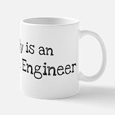 My Daddy is a Aerospace Engin Mug