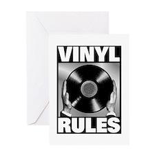 Unique Vinyl Greeting Card