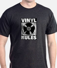 big_vinyl_rules_1 T-Shirt