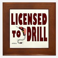 Licensed to Drill Framed Tile