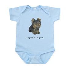 Good Yorkie Infant Bodysuit