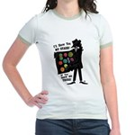 I'll Show You My Stash Jr. Ringer T-Shirt