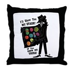 I'll Show You My Stash Throw Pillow