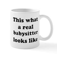 babysitter (looks like) Mug