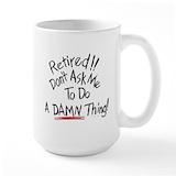 Retired Large Mugs (15 oz)