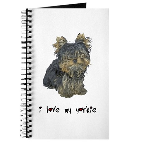 I Love My Yorkie Journal