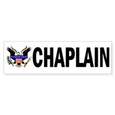 Chaplain_Eagle Bumper Bumper Sticker