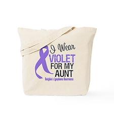 I Wear Violet For My Aunt Tote Bag