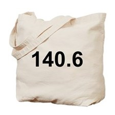 140.6 (Ironman Triathlon) Tote Bag