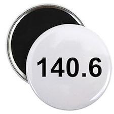 140.6 (Ironman Triathlon) Magnet