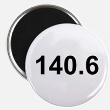 140.6 (Ironman Triathlon) Magnet