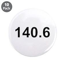 """140.6 (Ironman Triathlon) 3.5"""" Button (10 pack)"""