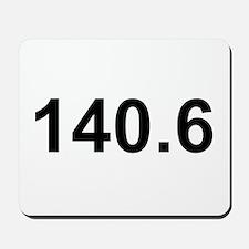 140.6 (Ironman Triathlon) Mousepad