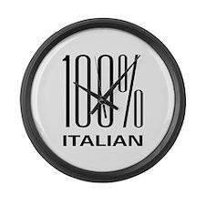 100% Italian Large Wall Clock