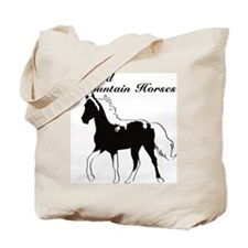 Spotted Mountain Horses! Tote Bag