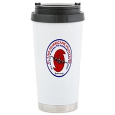 Funny Hurricane Plane C-130 Ceramic Travel Mug