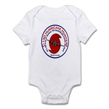 Funny Hurricane Plane C-130 Infant Bodysuit