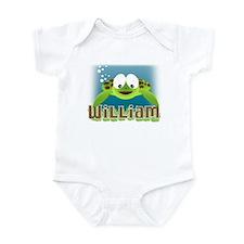 Adorable William Turtle Infant Bodysuit
