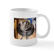 Kitten in a frying pan Mug