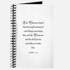 JOHN 7:32 Journal