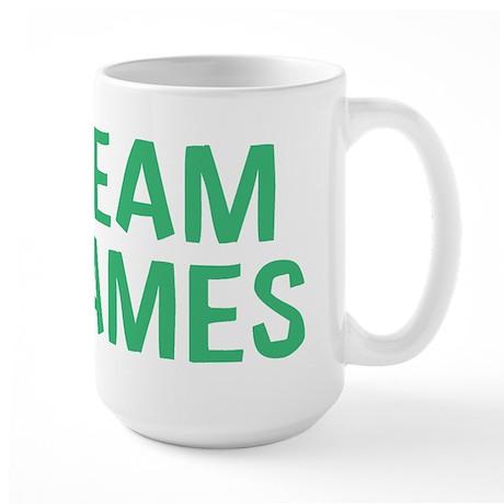 Team James(Green) Large Mug