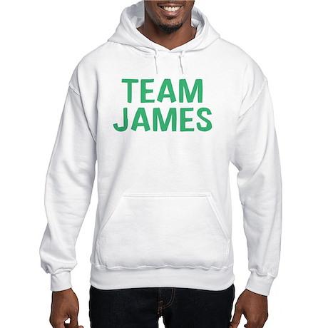 Team James(Green) Hooded Sweatshirt