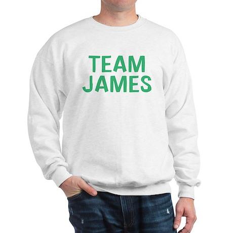 Team James(Green) Sweatshirt