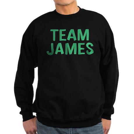 Team James(Green) Sweatshirt (dark)
