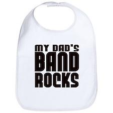 MY DAD'S BAND ROCKS Bib