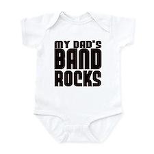 MY DAD'S BAND ROCKS Infant Bodysuit