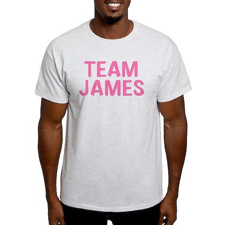 Team James(Light Pink) Light T-Shirt