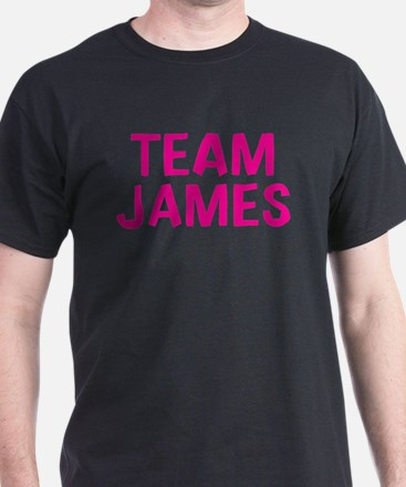 Team James(Dark Pink) T-Shirt