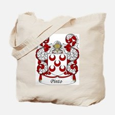 Pinto Family Crest Tote Bag