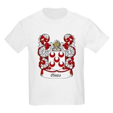Pinto Family Crest Kids T-Shirt