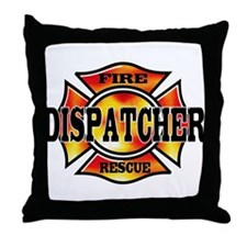 Fire Dispatcher Throw Pillow